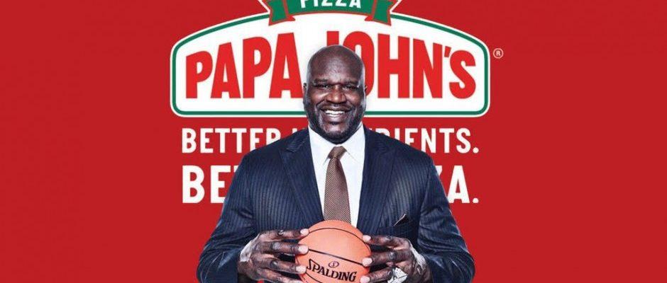 How Shaq Is Involved With Papa John's